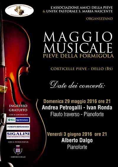 Maggio Musicale 2016 - Pieve di Corticelle
